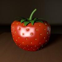 strawberry blender obj