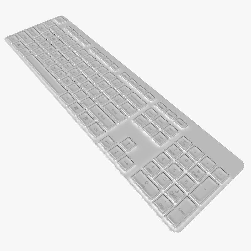 3d backlit keyboard
