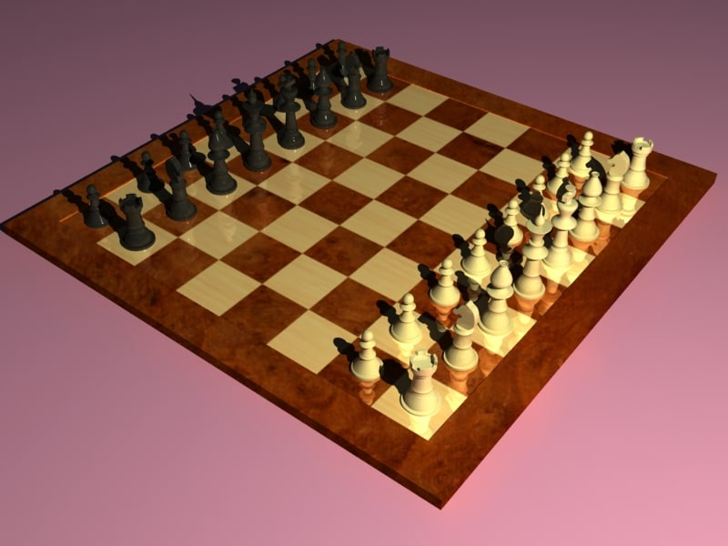 3ds max classical chess