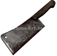 obj ready butcher cleaver