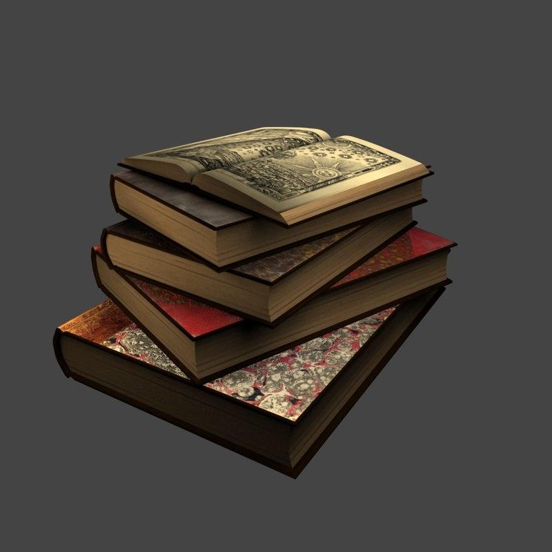 obj stack books
