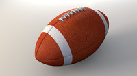 obj football american ball