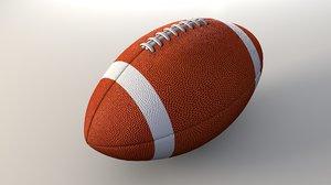 obj football american ball
