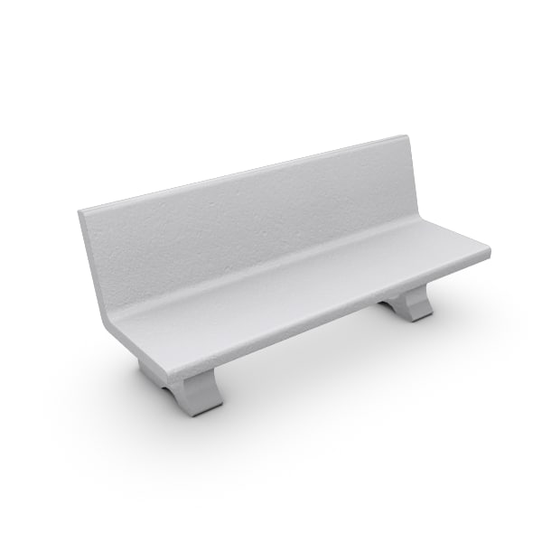 max concrete bench