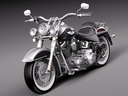 Harley Davidson Softail Deluxe 2012