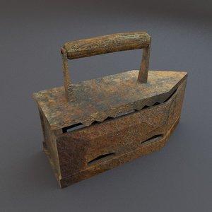 3ds max vintage iron