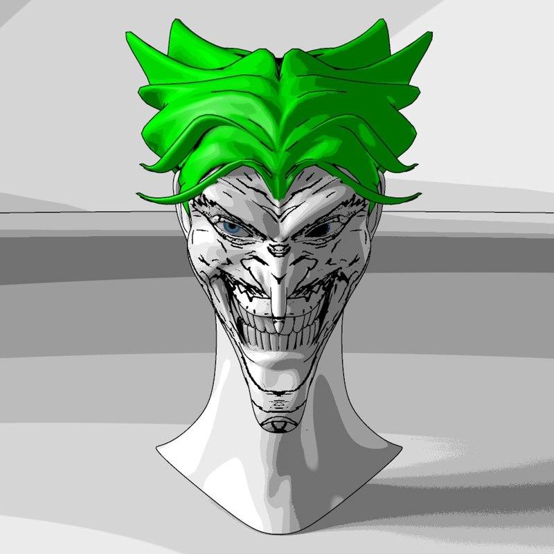 3d model joker man