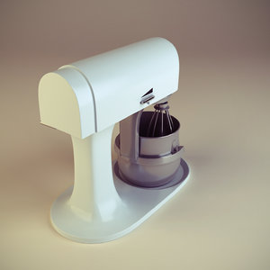 3d model of manual mixer