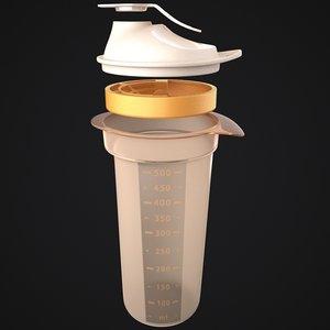 3d tupperware tumbler - bottle
