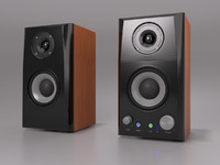pc speakers 3d max