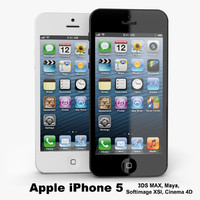apple iphone 5 3d 3ds