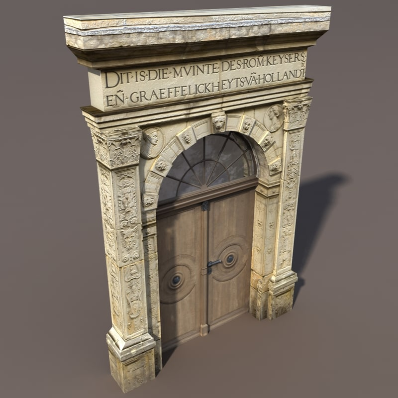 max portal door modelled