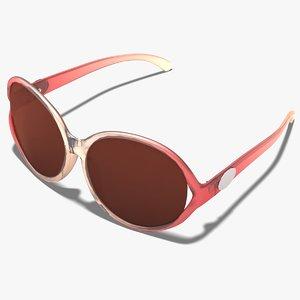 3ds max glasses sunglasses