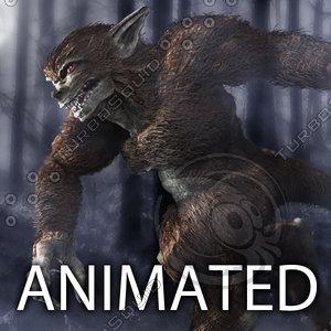 3dsmax werewolf wolf