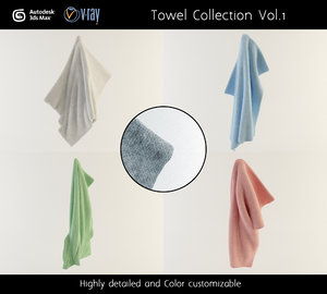 towel 1 obj