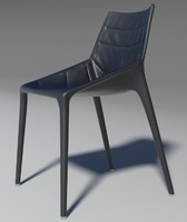 chair outline leather 2013 3d max