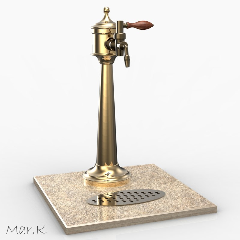 old beer tower 3d 3ds