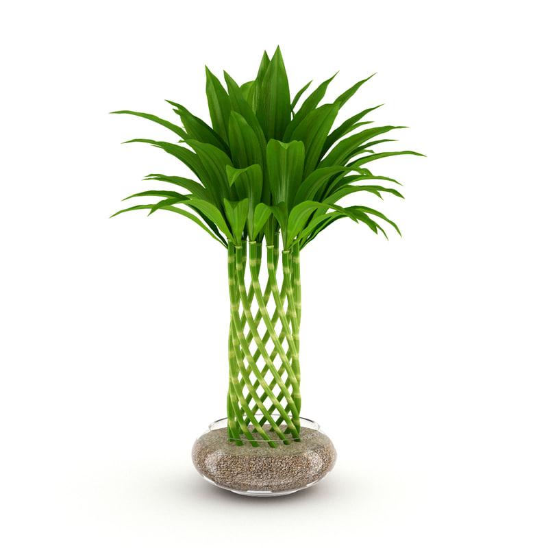 3dsmax bamboo plant