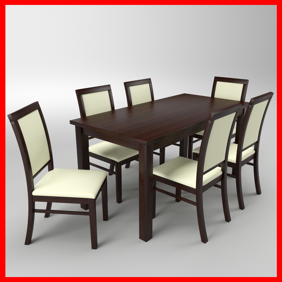 Marvelous Free Table Chair 3D Model Inzonedesignstudio Interior Chair Design Inzonedesignstudiocom