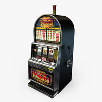3d casino slot machines model