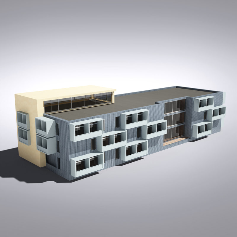 max modern generic building architectural