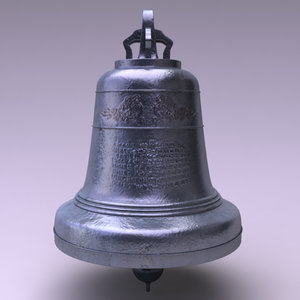 old bell 3d max