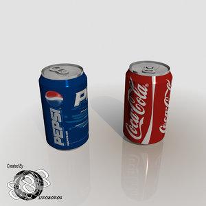 3d cola pepsi