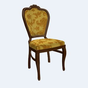 classic chair 3d 3ds