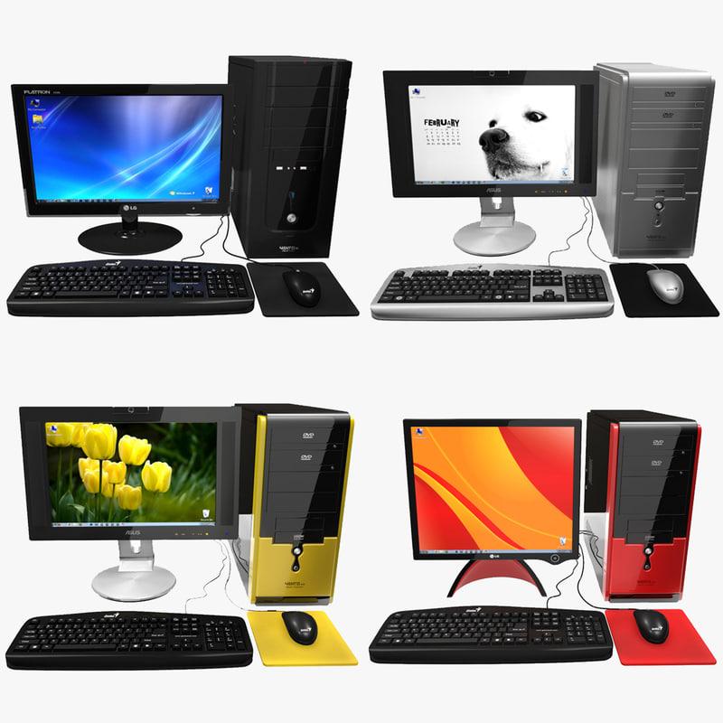 personal computer desktop 3ds