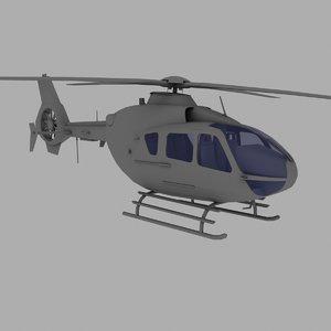 3d eurocopter ec 135