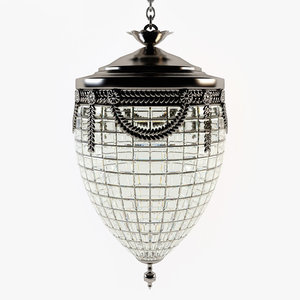 3d model eichholtz - emperor chandelier