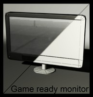 3d 3ds monitor monoblock