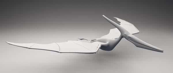 pteranodon blender 3d blend