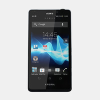 3d max sony xperia t mobile phone