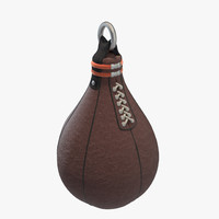 3d boxing pear model