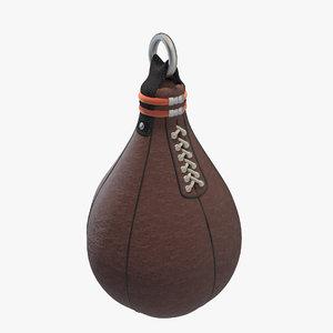 3d boxing pear model