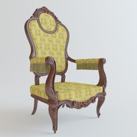 Classical chair rococo