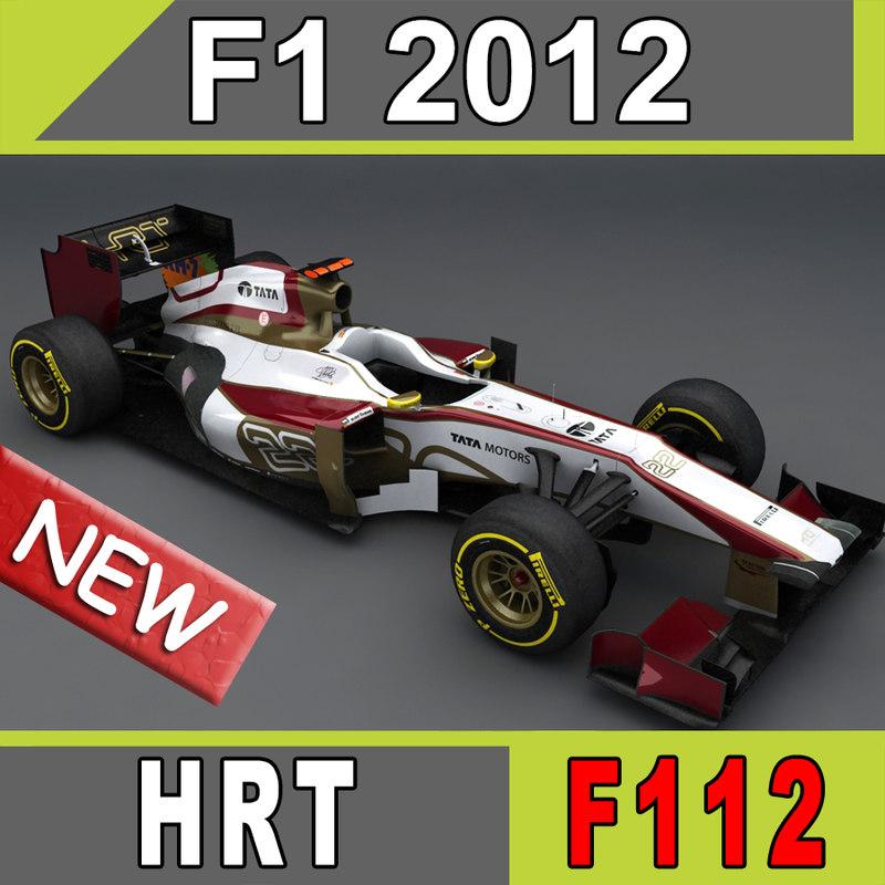 2012 hispania hrt car race 3d 3ds