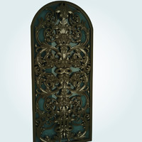 old ornamental 3d model
