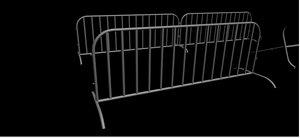 free guard rail 3d model