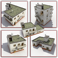 house town cottage 3d max