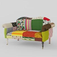 max sofa patchwork
