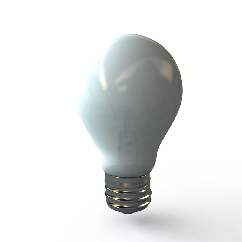 lightbulb light bulb 3d ma