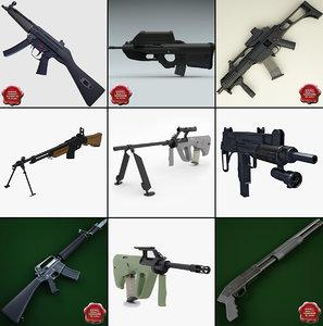 machine guns 5 max