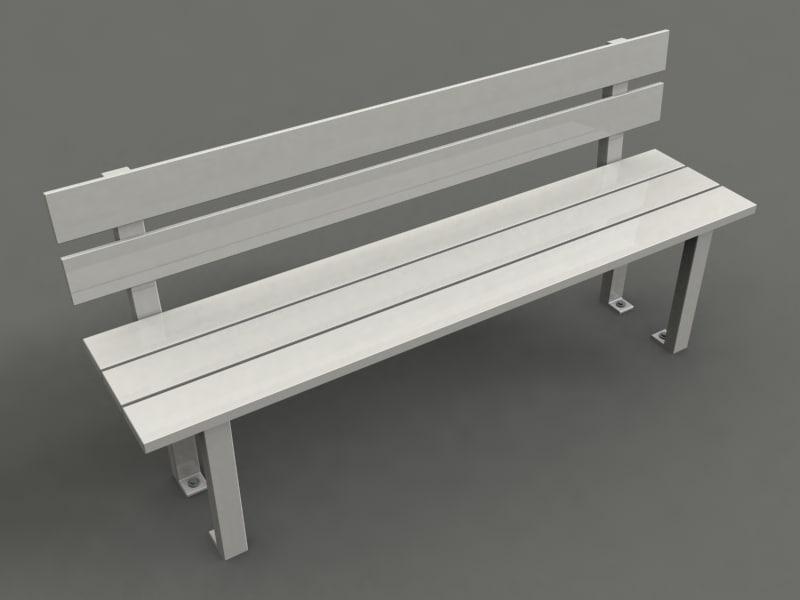 max park chair strange benches