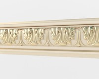 3d model classical moulding 02