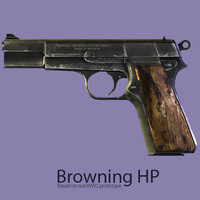 3d guns pistol 2 browning model