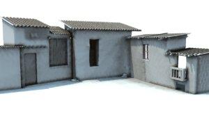 3d set model