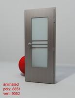 3d model door porta concept d1