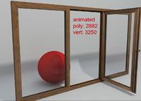 window 03 3d model